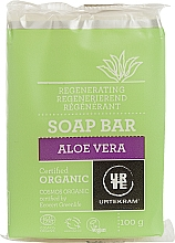 Perfumería y cosmética Jabón orgánico en barra de aloe vera - Urtekram Regenerating Aloe Vera Soap