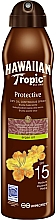 Perfumería y cosmética Aceite seco bronceador en spray con aceite de argán - Hawaiian Tropic Protective Argan Oil Spray SPF 15