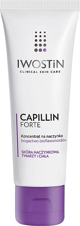 Concentrado facial para pieles con capilares dilatados con vitamina C - Iwostin Capillin Forte Concentrate