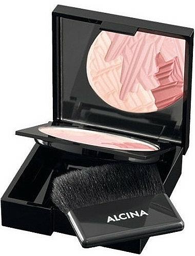 Colorete compacto tricolor - Alcina Brilliant Blush — imagen N1