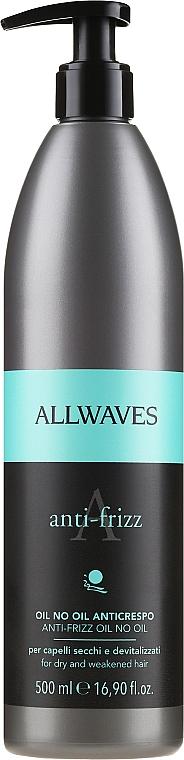 Aceite capilar suavizante - Allwaves Anti-Frizz Oil No Oil
