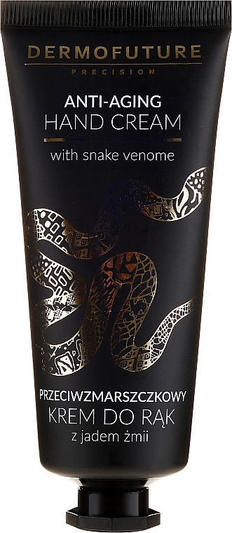 Crema de manos con veneno de serpiente y manteca de coco para pieles maduras y muy secas - Dermofuture Anti-aging Hand Cream