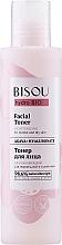 Perfumería y cosmética Tónico facial hidratante con ácido hialurónico y extracto de agave - Bisou Hydro Bio Facial Toner