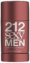 Perfumería y cosmética Carolina Herrera 212 Sexy Men - Desodorante stick