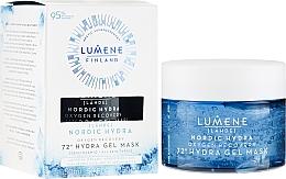 Perfumería y cosmética Gel-mascarilla facial con ácido hialurónico - Lumene Nordic Hydra 72H Gel Mask