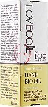 Perfumería y cosmética Aceite para manos con aguacate - ECO Laboratorie Lovecoil Hand Bio Oil Velvet Skin