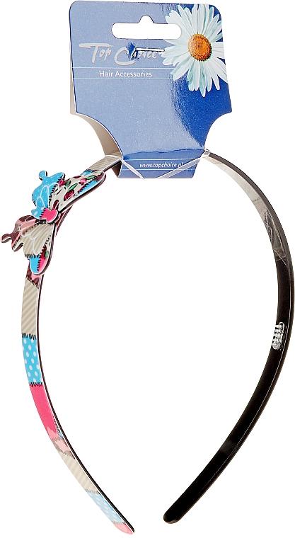 Diadema con decoración mariposa, multicolor - Top Choice