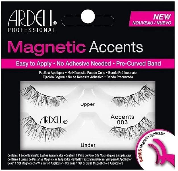 Pestañas postizas magnéticasde esquina con aplicador - Ardell Magnetic Lashes Accent 003