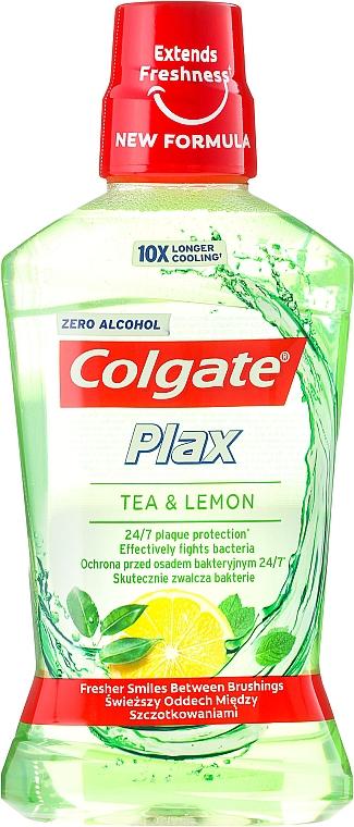 """Enjuague bucal """"té y limón"""" - Colgate Plax Tea&Lemon — imagen N1"""