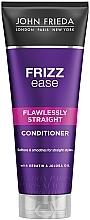 Perfumería y cosmética Acondicionador para cabello con queratina y aceite de jojoba - John Frieda Frizz-Ease Flawlessly Straight Conditioner