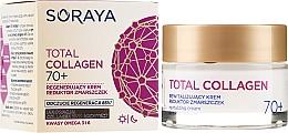 Perfumería y cosmética Crema revitalizante antiarrugas con complejo de colágeno 70+ - Soraya Total Collagen 70+