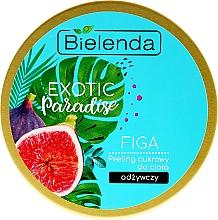 Perfumería y cosmética Exfoliante corporal con cristales de azúcar & extracto de higo - Bielenda Exotic Paradise Peel