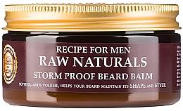 Perfumería y cosmética Bálsamo para barba con aceites naturales - Recipe For Men RAW Naturals Storm Proof Beard Balm