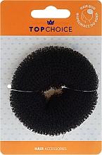 Perfumería y cosmética Esponja de moño 20353, negra, talla S - Top Choice