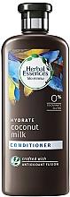 Perfumería y cosmética Acondicionador hidratante de leche de coco - Herbal Essences Coconut Milk Conditioner