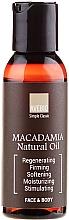 Perfumería y cosmética Aceite natural de macadamia para cuerpo y rostro - Avebio OiL Macadamia