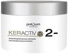 Perfumería y cosmética Crema profesional alisadora de cabello con queratina - PostQuam Keractiv Smooth Straightening Cream With Keratin