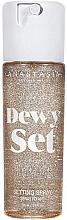 Perfumería y cosmética Spray fijador de maquillaje con aroma a coco y vainilla - Anastasia Beverly Hills Dewy Set Setting Spray