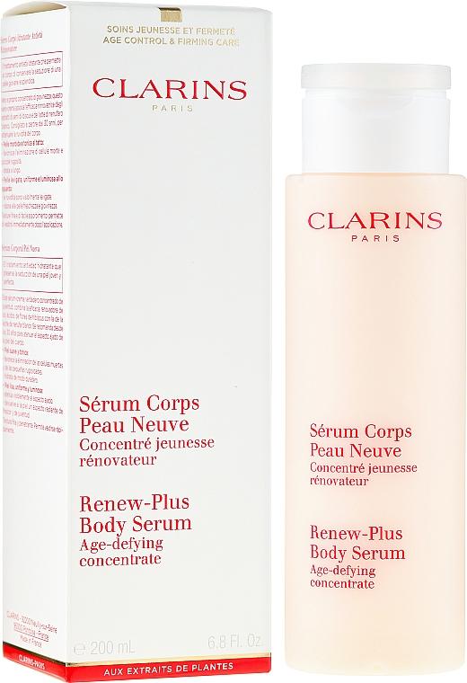 Sérum corporal con extracto de hibisco y nenúfar blanco - Clarins Renew-Plus Body Serum — imagen N1