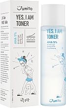 Perfumería y cosmética Tónico facial con 5% AHA ácidos - HelloSkin Jumiso Yes I Am Toner AHA 5%