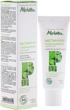 Perfumería y cosmética Fluido facial matificante con extracto de wasabi - Melvita Nectar Pur Fluide Hydratant Matifiant