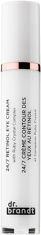 Crema antiedad para contorno de ojos con retinol - Dr. Brandt 24/7 Retinol Eye Cream