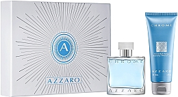 Perfumería y cosmética Azzaro Chrome - Set (edt/50ml + gel de ducha/100ml)