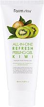 Perfumería y cosmética Peeling gel facial blanqueador con extracto de kiwi - FarmStay All-In-One Refresh Peeling Gel Kiwi