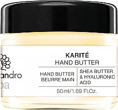 Perfumería y cosmética Manteca de manos con karité y ácido hialurónico - Alessandro International Spa Hand Butter