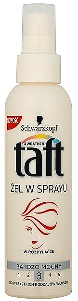 Gel en spray para cabello, fijación fuerte - Schwarzkopf Taft Hair Spray