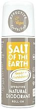 Perfumería y cosmética Desodorante natural roll-on de ámbar y sándalo - Salt of the Earth Amber & Sandalwood Natural Roll-On Deo