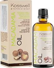 Perfumería y cosmética Aceite de macadamia revitalizante y antiencrespamiento - Kosswell Professional Macadamia Oil