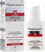 Perfumería y cosmética Crema facial para rojeces con manteca de karité y aceite de canola - Pharmaceris N Active-Capilaril Forte Cream