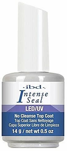 Top coat LED/UV, sin limpieza - IBD LED/UV Intense Sea No Cleanse Top Coat