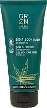 Perfumería y cosmética Gel de ducha 3en1 con aceite de cañamo y flor de lúpulo - GRN Gentlemen's Organic Hemp & Hop 3-in-1 Body Wash