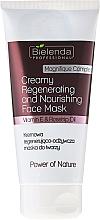 Perfumería y cosmética Mascarilla facial con aceites de aguacate & escaramujo - Bielenda Professional Power Of Nature Creamy Regenerating And Nourishing Face Mask