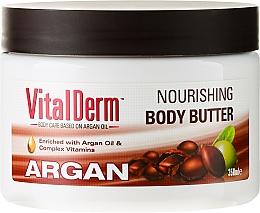 Perfumería y cosmética Manteca corporal enriquecida con aceite de argán y complejo vitamínico - VitalDerm Argana