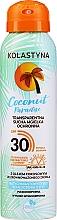 Perfumería y cosmética Spray protector solar transparente para rostro y cuerpo, SPF30 - Kolastyna Coconut Paradise SPF30