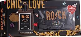 Perfumería y cosmética Chic&Love Rock - Set (eau de toilette/100ml + neceser)