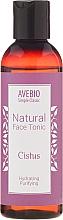 Perfumería y cosmética Tónico facial hidratante con extracto de plantas naturales - Avebio Natural Face Tonic Cistus