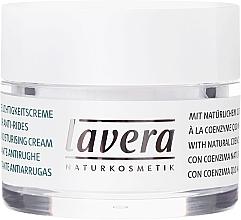 Crema facial hidratante con coenzima Q10 y aceite de jojoba orgánico - Lavera Basis Sensitive Moisturizing Cream Q10 — imagen N2