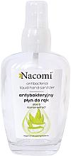 Perfumería y cosmética Spray de manos con extracto de aloe vera y regalíz en botella de cristal - Nacomi Antibacterial Liquid Hand Sanitizer
