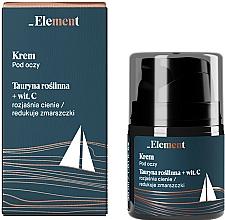 Perfumería y cosmética Crema rejuvenecedora de controno de ojos con taurina y vitamina C - _Element Men Eye Cream
