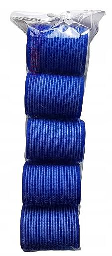 Rulos de velcro, 498788, 48mm, azul, 5uds. - Inter-Vion