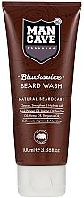 Perfumería y cosmética Gel limpiador para barba con aceite de pimienta negra, aceite de árbol de té y cafeína - Man Cave Blackspice Beard Wash