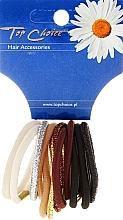 Perfumería y cosmética Goma de pelo, mix de colores - Top Choice