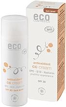 Perfumería y cosmética Crema CC antioxidante con coenzima Q10, SPF30 - Eco Cosmetics Tinted CC Cream SPF30