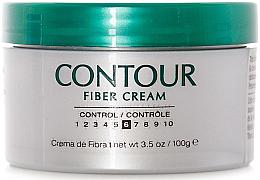 Perfumería y cosmética Crema moldeadora de fibra con protección térmica enriquecida con extracto de cactus, fijación media - Lanza Healing Style Contour Fiber Cream