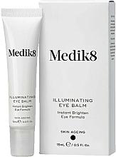 Perfumería y cosmética Bálsamo contorno de ojos iluminador con ácido hialurónico y extracto de algas rojas - Medik8 Illuminating Eye Balm