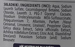 Champú & gel de ducha refrescante con extracto de ortiga, milenrama & salvia - Pollena Savona Three Herbs Men 2in1 Shampoo & Shower Gel — imagen N3